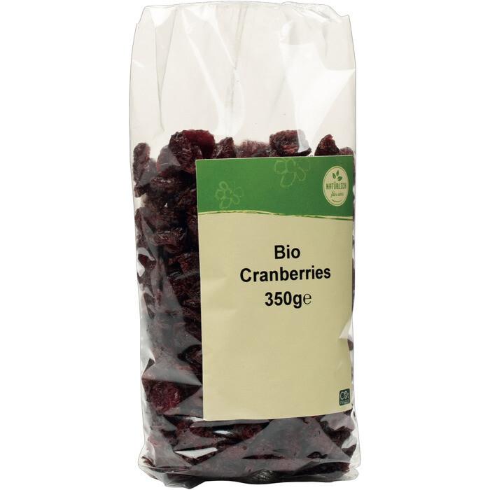 Grospackung natürlich für uns Bio Cranberries 10 x 350 g = 3,5 kg