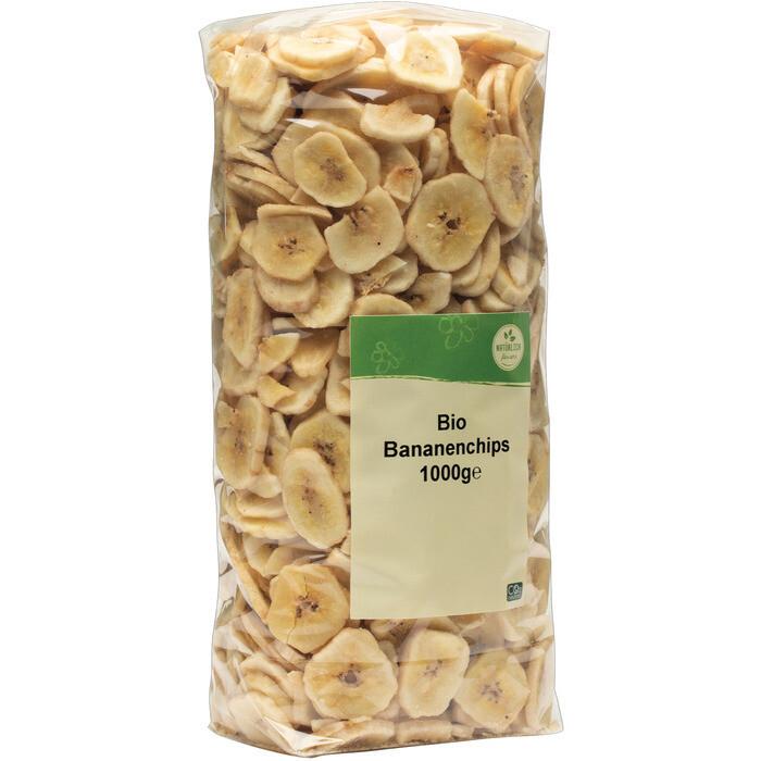Grospackung natürlich für uns Bio Bananenchips 10 x 1 kg = 10 kg