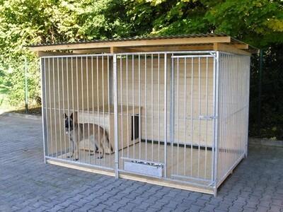 Sauerland Hundezwinger 2 seitig geschlossen, Sonderserie