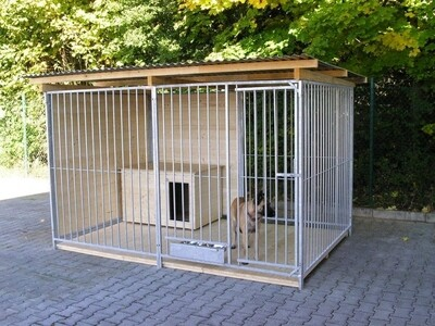 SAUERLAND Hundezwinger / Rohrstabzwinger 1,5 seitig geschlossen, Sonderserie