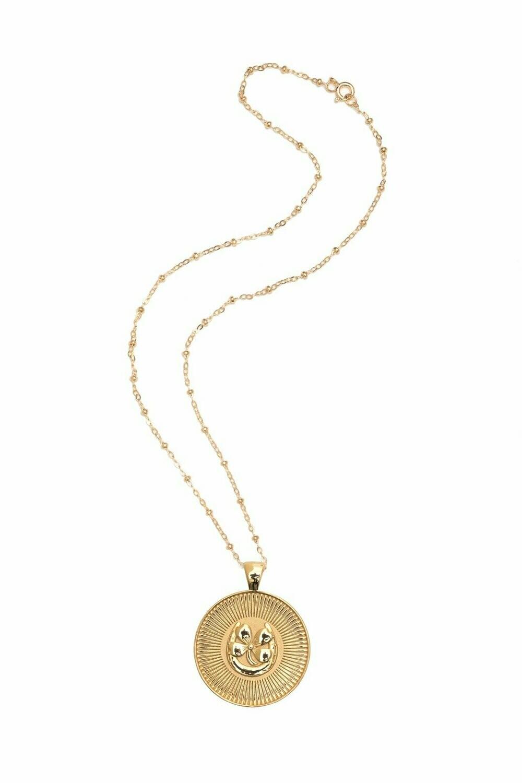 "Jane Winchester Original ""Lucky"" Coin Pendant"