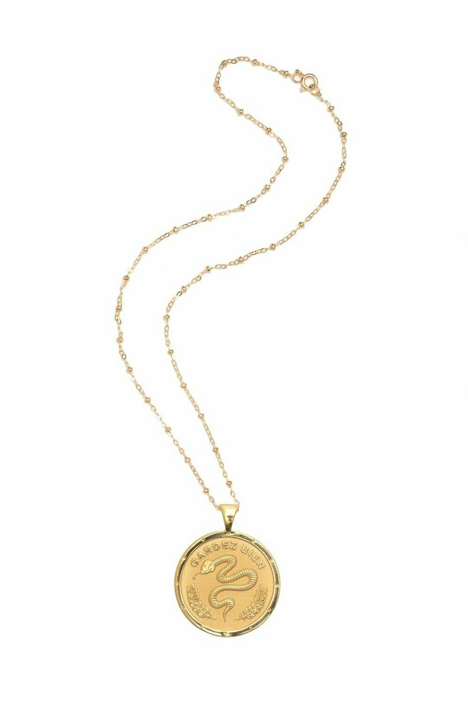 "Jane Winchester Original ""Protect"" Coin Pendant"