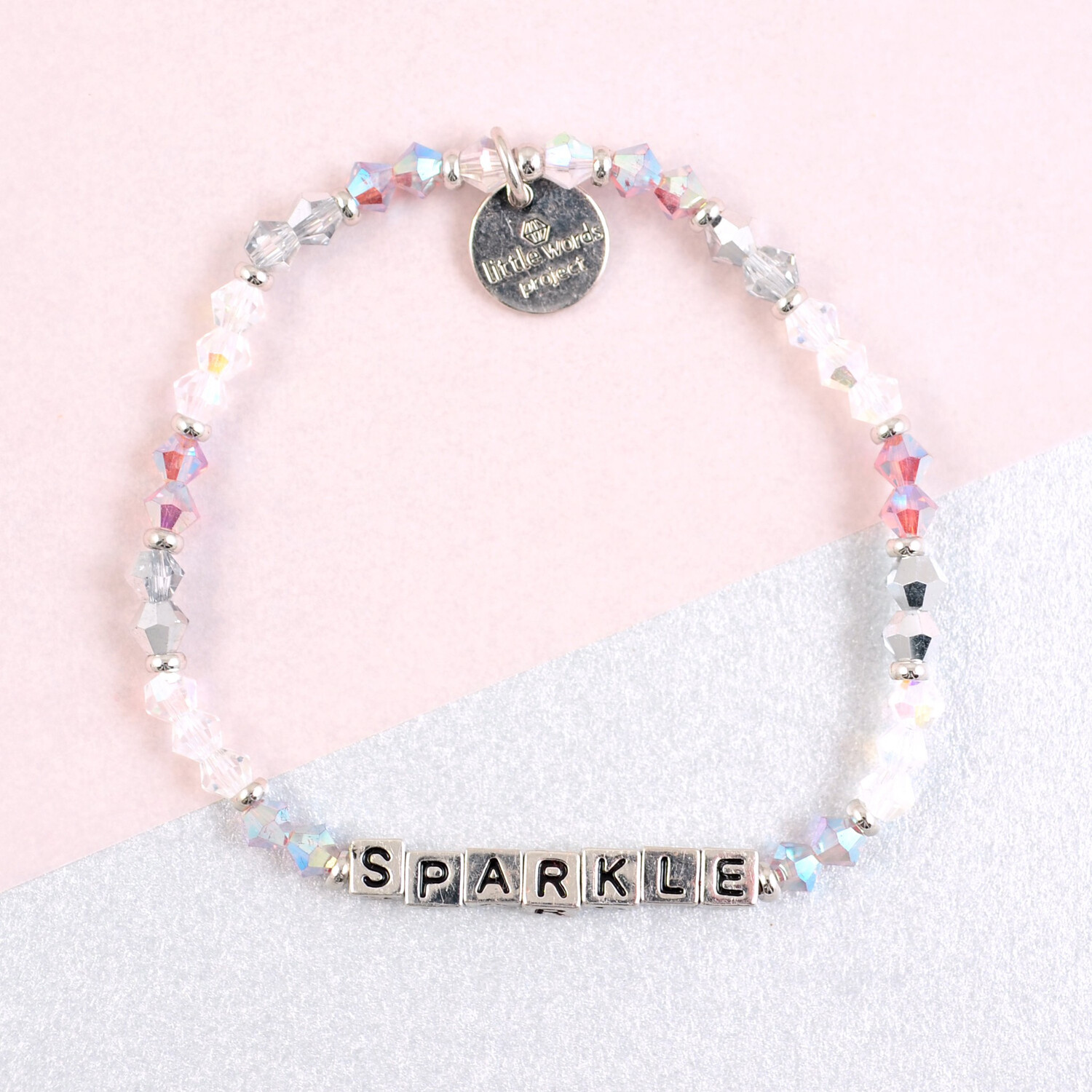 "Little Words Project Silver ""Sparkle"" Bracelet"
