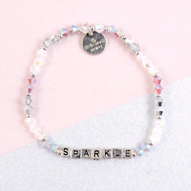 "Little Words Project Silver ""Sparkle"" Bracelet"