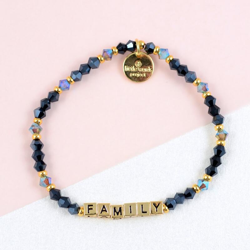 "Little Words Project Gold ""Family"" Bracelet"