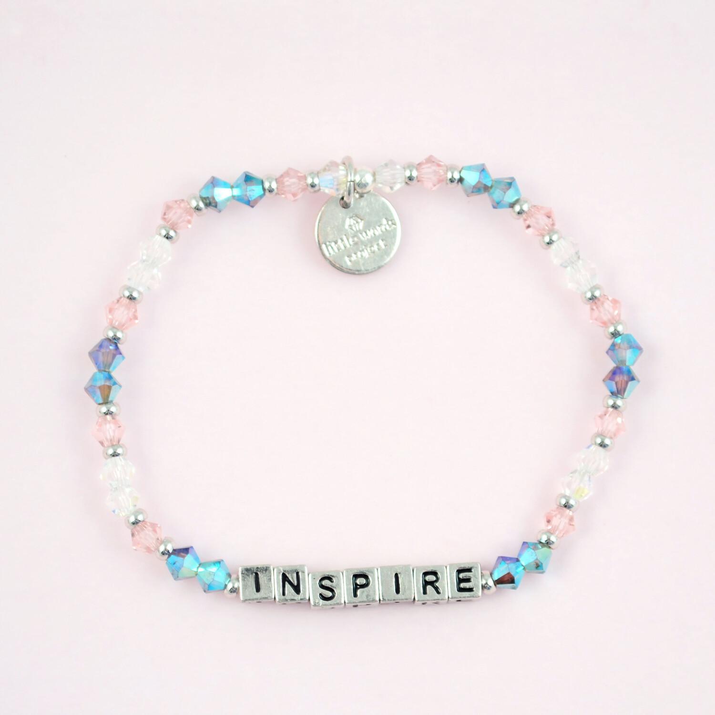 """Little Words Project Silver """"Inspire"""" Bracelet"""