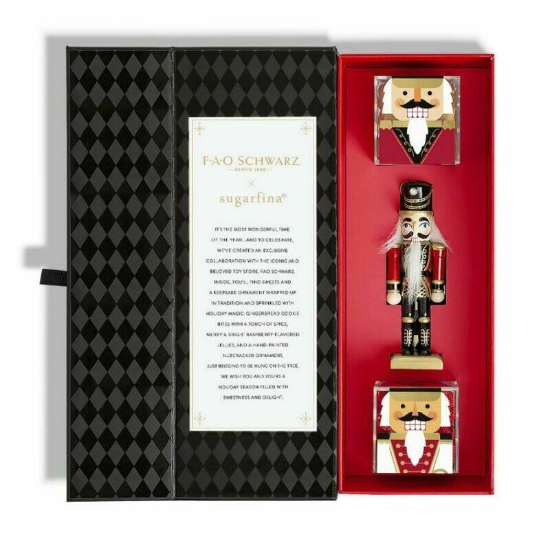 Sugarfina FAO Scharwtz Candy & Ornament Bento Box
