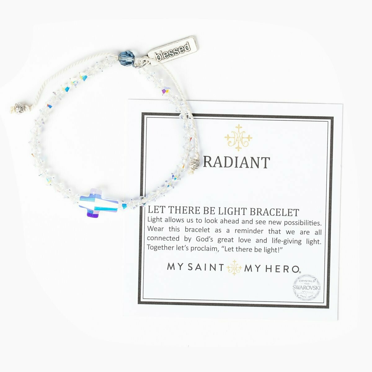 My Saint My Hero Radiant Let There Be Light Bracelet - Aurora Borealis