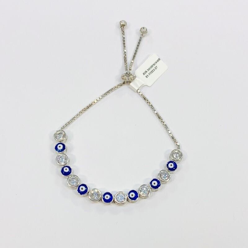Large Multi Evil Pull Chain Bracelet