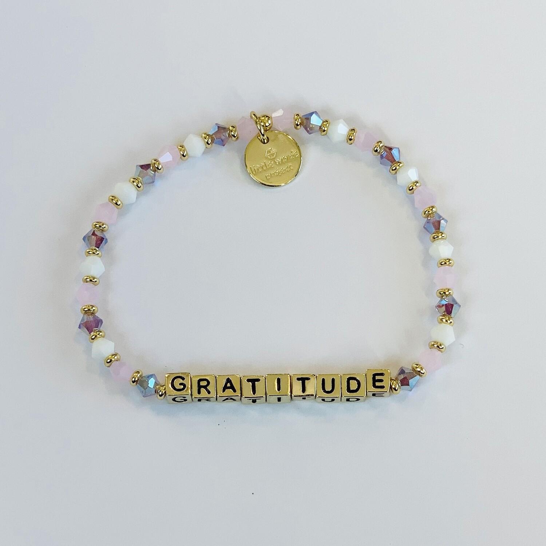 "Little Words Project Gold ""Gratitude"" Bracelet"