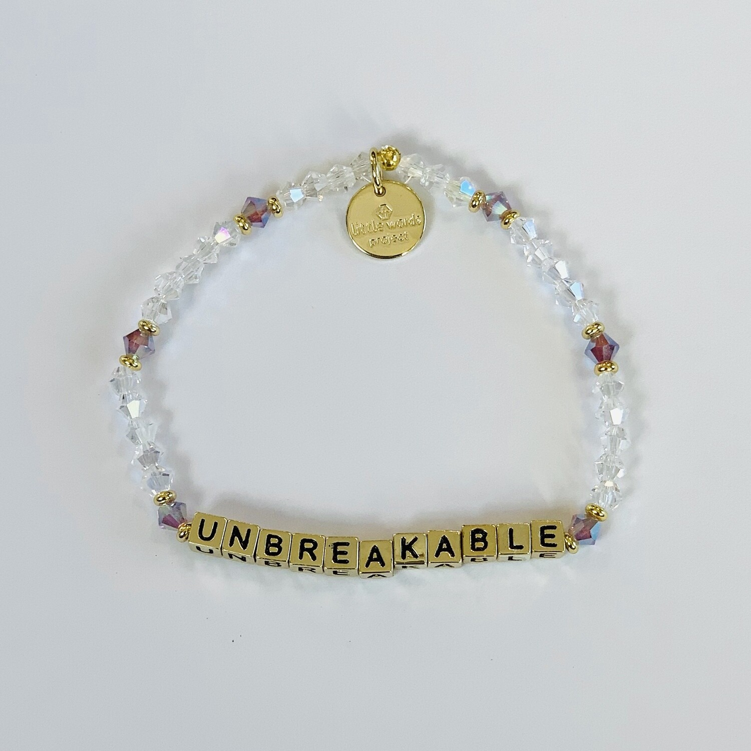 "Little Words Project Gold ""Unbreakable"" Bracelet"