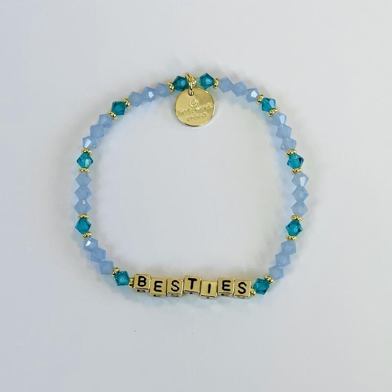 """Little Words Project Gold """"Besties"""" Bracelet"""