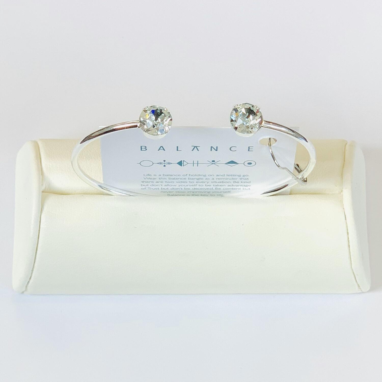 Balance Bracelet Silver/Pale Turquouse