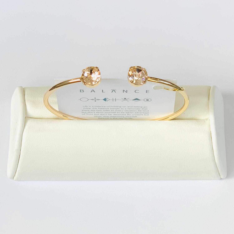 Balance Bracelet Gold/Silk