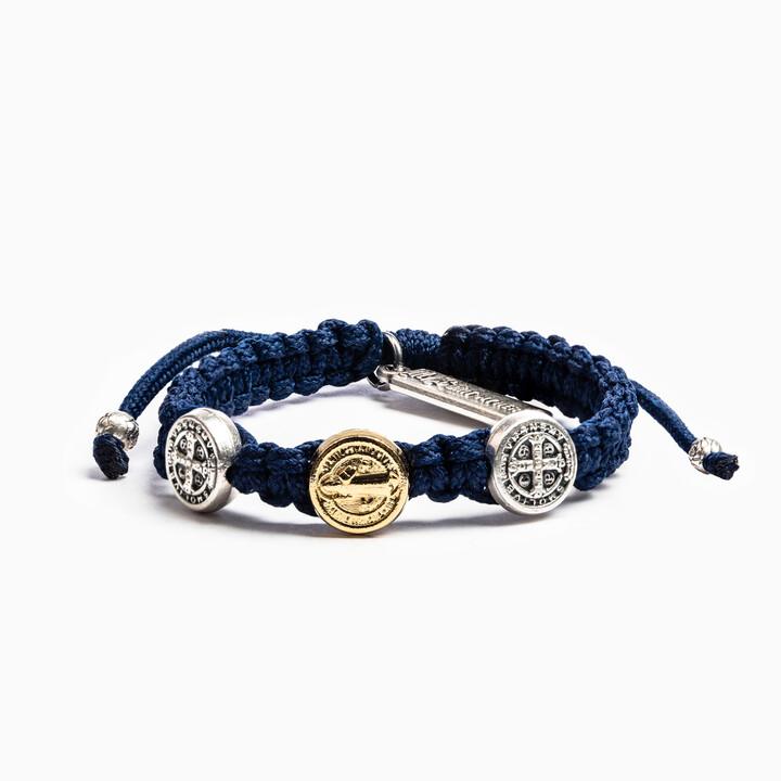 Blessing for Kids Benedictine Blessing Bracelet (Navy)