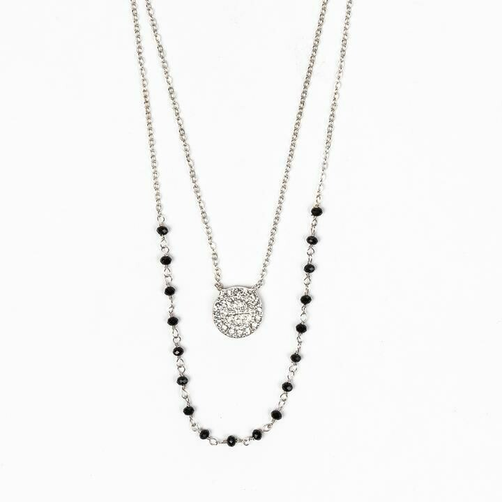Blessings and Grace Necklace (Silver)