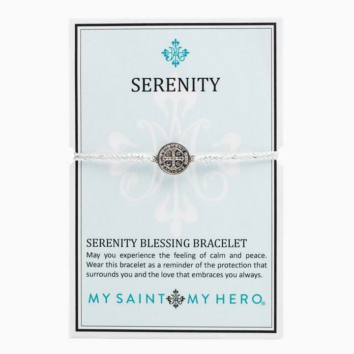 Serenity Blessing Bracelet (Silver/Metallic Silver)