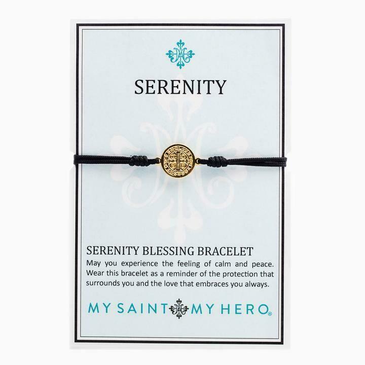 Serenity Blessing Bracelet (Gold/Black)