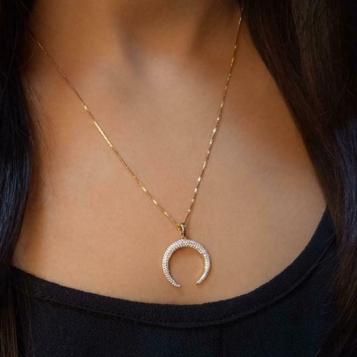 Ella Stein Horn Necklace
