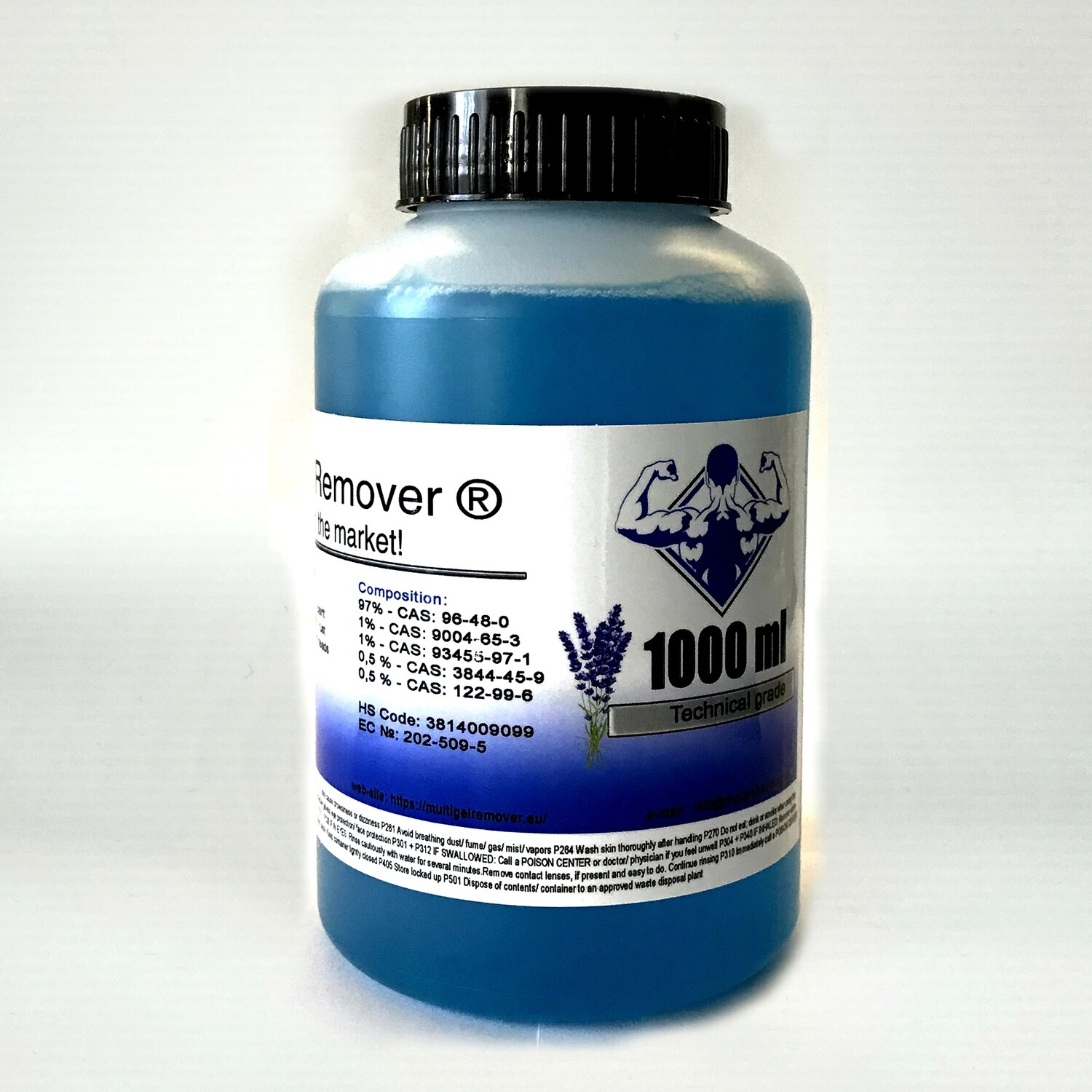 Multi Gel Remover® 1000 ml Technical grade Blue