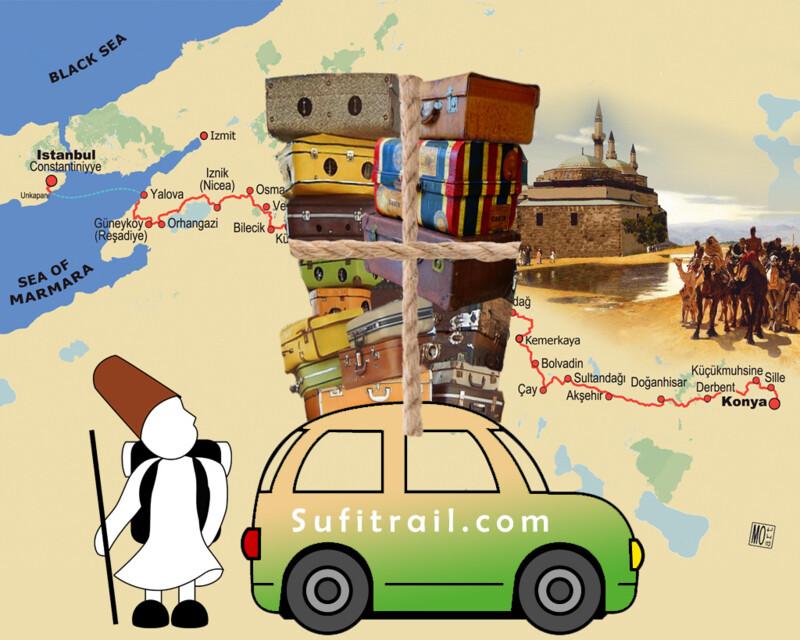 Sufi Caravan to Rumi in Konya daily Transport fee