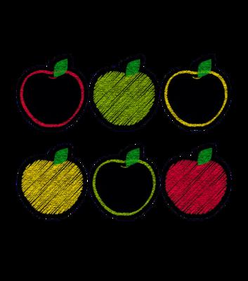 chalk it up apples