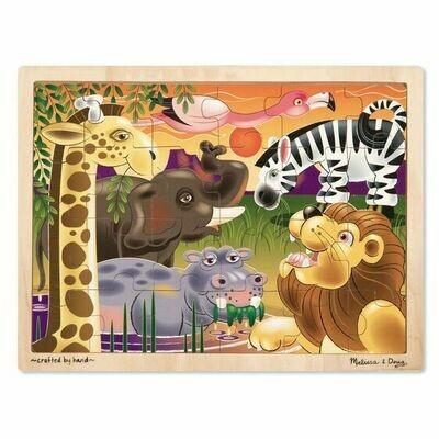 African Plains Jigsaw (24 pc)