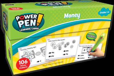 Power Pen® Learning Cards: Money