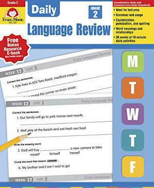Daily Language Review Grade 2