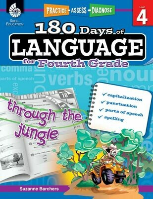 180 Days of Language for 4th Grade