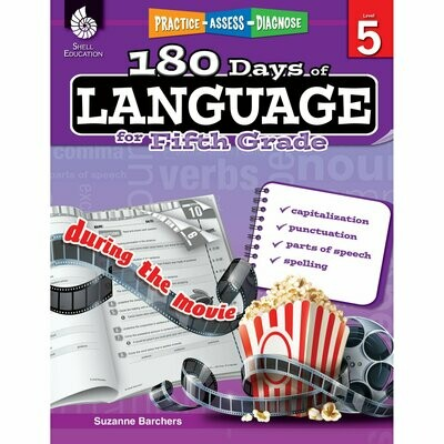 180 Days of Language for 5th Grade