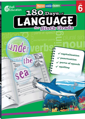 180 Days of Language for 6th