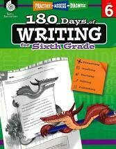 180 Days of Writing for 6th Grade