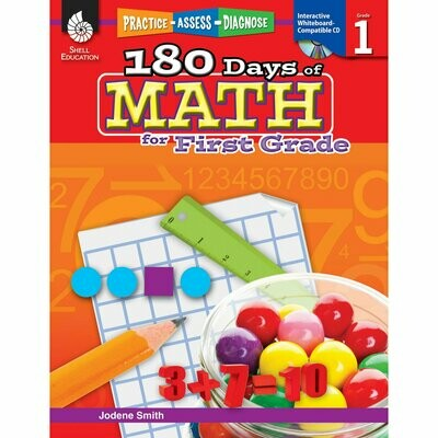 180 Days of Math for 1st Grade