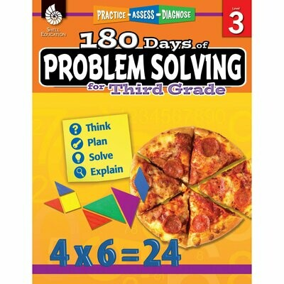 180 Days of Problem Solving for 3rd Grade
