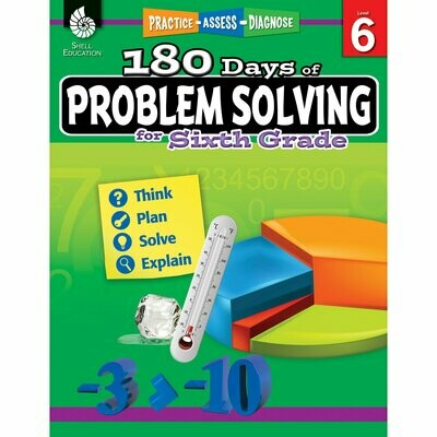 180 Days of Problem Solving for 6th Grade