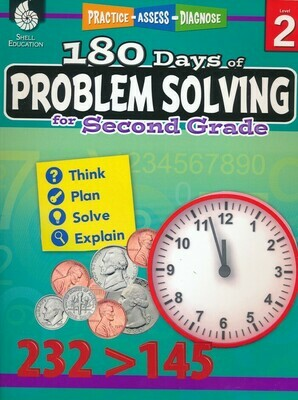 180 Days of Problem Solving for 2nd Grade