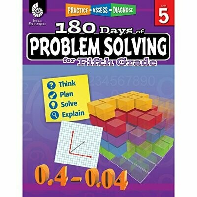 180 Days of Problem Solving for 5th grade
