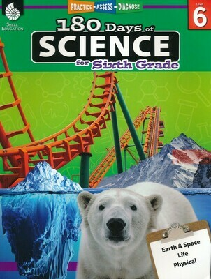 180 Days of Science for 6th Grade