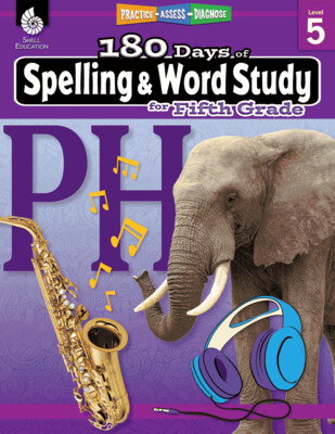 180 Days of Spelling & Word Study for 5th Grade
