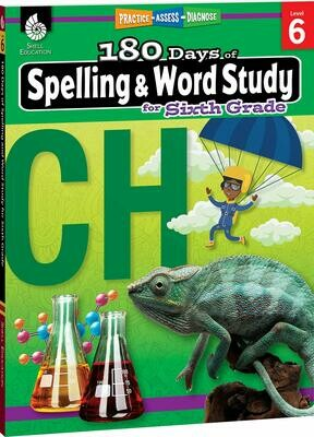 180 Days of Spelling & Word Study