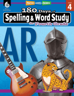 180 Days of Spelling & Word Study for Fourth