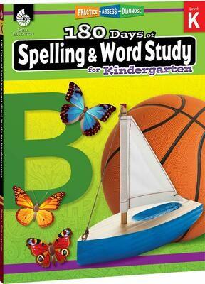 180 Days of Spelling & Word Study Kindergarten