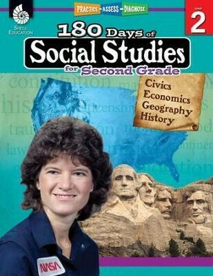 180 Days of Social Studies for 2nd Grade