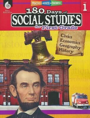 180 Days of Social Studies for 1st Grade