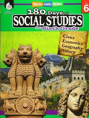 180 Days of Social Studies for 6th Grade