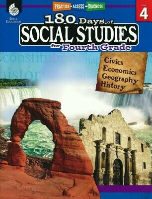 180 Days of Social Studies for 4th grade