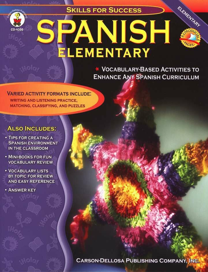 Skills For Success Spanish Elementary
