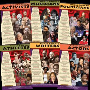 African American Leaders Poster Set