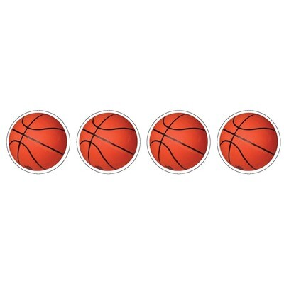Basketball - 120 pack Sticker